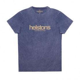 Tee-Shirts Hommes HELSTONS T-SHIRT HELSTONS CORPORATE COTON BLEU