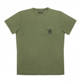 Tee-Shirts Hommes HELSTONS T-SHIRT HELSTONS CHEVIGNON RIDE COTON VERT OLIVE