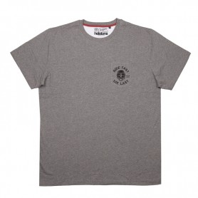 Tee-Shirts Hommes HELSTONS T-SHIRT HELSTONS CHEVIGNON RIDE COTON GRIS CHINE