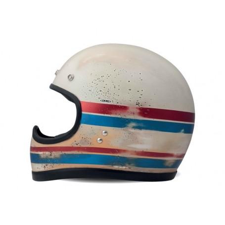 Full Face Helmets DMD Casque DMD RACER FAIT MAIN - LINE