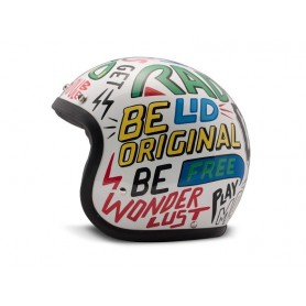 Casques JET DMD Casque DMD VINTAGE WORDS