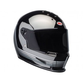 Casques BELL CASQUE BELL ELIMINATOR SPECTRUM NOIR MAT/CHROME L