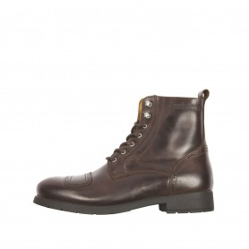 Demi-bottes Hommes HELSTONS HELSTONS TRAVEL CUIR ANILINE MARRON 45 20160018 M