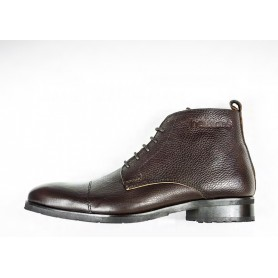 Chaussures HELSTONS DEMI-BOTTES HELSTONS HERITAGE CUIR MARRON 41 20180068 M