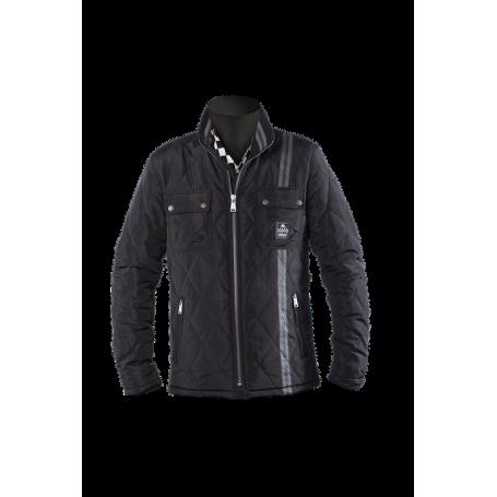Men's Jackets HELSTONS BLOUSON HELSTONS KINLEY TISSU OXFORD - KEVLAR NOIR 20180056 NO
