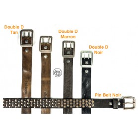 76f88e885fd77 HELSTONS DOUBLE D BELT CEINTURON MARRON