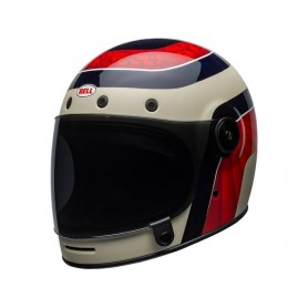 CASQUE BELL BULLITT CARBON GLOSS BLANC/CARBON PIERCE