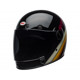Casques BELL CASQUE BELL BULLITT DLX BURNOUT NOIR BRILLANT/BLANC/MARRON 800000630168