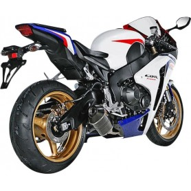 AKRAPOVIC RACING LINE COMPLETE SYSTEM STAINLESS STEEL & CARBON S-H10R7-TC