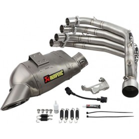Lignes Complètes AKRAPOVIC AKRAPOVIC RACING LINE COMPLETE SYSTEM STAINLESS STEEL & TITANIUM S-H6R11-AFT S-H6R11-AFT