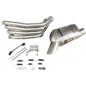 Lignes Complètes AKRAPOVIC AKRAPOVIC RACING LINE COMPLETE SYSTEM STAINLESS STEEL & TITANIUM S-H6R12-HAFT S-H6R12-HAFT