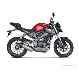 Lignes Complètes AKRAPOVIC AKRAPOVIC RACING LINE COMPLETE SYSTEM STAINLESS STEEL & TITANIUM S-Y125R2-HRT S-Y125R2-HRT