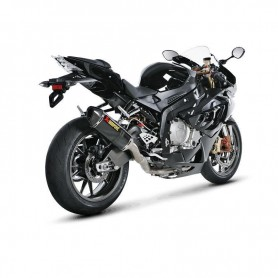 AKRAPOVIC RACING LINE COMPLETE SYSTEM STAINLESS STEEL & CARBON S-B10R1-RC/1