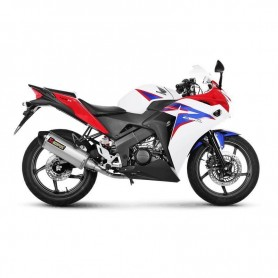 Lignes Complètes AKRAPOVIC AKRAPOVIC RACING LINE COMPLETE SYSTEM STAINLESS STEEL S-H125R10-HRSS S-H125R10-HRSS