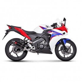 Lignes Complètes AKRAPOVIC AKRAPOVIC RACING LINE COMPLETE SYSTEM STAINLESS STEEL & CARBON S-H125R10-ZC S-H125R10-ZC