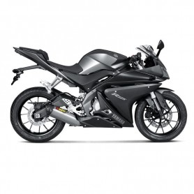 Lignes Complètes AKRAPOVIC AKRAPOVIC RACING LINE COMPLETE SYSTEM STAINLESS STEEL & TITANIUM S-Y125R4-HRT S-Y125R4-HRT