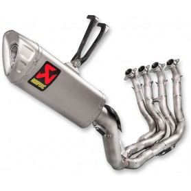 Lignes Complètes AKRAPOVIC AKRAPOVIC RACING LINE COMPLETE SYSTEM STAINLESS STEEL & CARBON S-H10R8-APLT S-H10R8-APLT