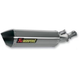 Mufflers AKRAPOVIC AKRAPOVIC SLIP-ON LINE MUFFLER TITANIUM S-H12SO1-HRT S-H12SO1-HRT