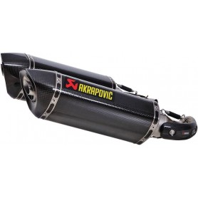AKRAPOVIC SLIP-ON LINE MUFFLER CARBON S-D10SO7-HZC