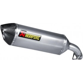 Silencieux AKRAPOVIC SILENCIEUX AKRAPOVIC SLIP-ON LINE TITANIUM S-H8SO3-HRT S-H8SO3-HRT