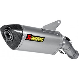 AKRAPOVIC SLIP-ON LINE MUFFLER TITANIUM S-D8SO1-HRT