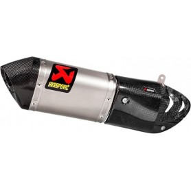 Silencieux AKRAPOVIC SILENCIEUX AKRAPOVIC SLIP-ON LINE TITANIUM S-D12SO6-HAPT S-D12SO6-HAPT