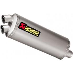 Mufflers AKRAPOVIC AKRAPOVIC SLIP-ON LINE MUFFLER TITANIUM S-H10SO15-HWT S-H10SO15-HWT