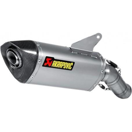 Mufflers AKRAPOVIC AKRAPOVIC SLIP-ON LINE MUFFLER TITANIUM S-D9SO8-RT S-D9SO8-RT