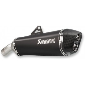 AKRAPOVIC SLIP-ON LINE MUFFLER TITANIUM S-B8SO7-HZAABL