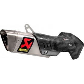 Silencieux AKRAPOVIC SILENCIEUX AKRAPOVIC SLIP-ON LINE TI MULTISTRADA 1260 S-D12SO9-HAPT S-D12SO9-HAPT