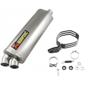 Silencieux AKRAPOVIC SILENCIEUX AKRAPOVIC SLIP-ON LINE TI/SS CRF1000L S-H10SO22-HWT S-H10SO22-HWT
