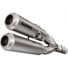 Silencieux AKRAPOVIC SILENCIEUX AKRAPOVIC SLIP-ON LINE SS MONKEY S-H125SO3-FFSS S-H125SO3-FFSS