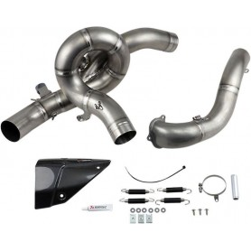 Collecteurs AKRAPOVIC AKRAPOVIC OPTIONAL HEADER TITANIUM E-D12E4 E-D12E4