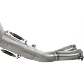 Tubes de Liaison AKRAPOVIC AKRAPOVIC OPTIONAL LINK PIPE STAINLESS STEEL L-H10SO5L/1 L-H10SO5L/1