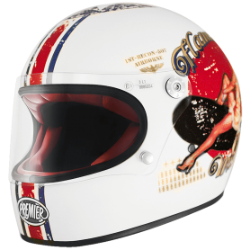Helmets PREMIER CASQUE PREMIER TROPHY PIN UP 8 BM TROPHY PIN UP 8 BM