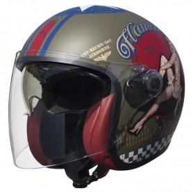Helmets PREMIER CASQUE PREMIER VANGARDE FL 9BM VANGARDE PINUP MILITARY BM