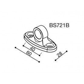 Adaptateurs Rétroviseurs RIZOMA ADAPTATEUR RETROVISEUR RIZOMA BS721B BS721B