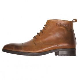 Men's Boots HELSTONS DEMI-BOTTES HELSTONS HERITAGE CUIR ANILINE CIRÉ CAMEL 20180068 CCI