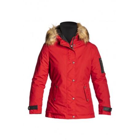 Women's Jackets HELSTONS BLOUSON FEMME HELSTONS ARTIC TISSU TECHNIQUE ROUGE 20190038 R
