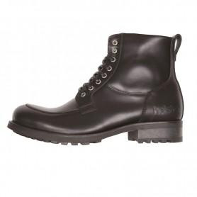 Men's Boots HELSTONS DEMI-BOTTES HELSTONS OXFORD CUIR ANILINE NOIR 20190042 NO