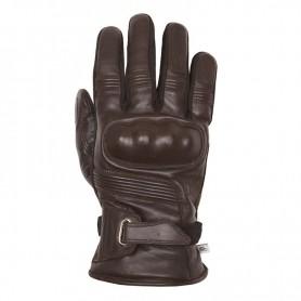 Men's Gloves HELSTONS GANTS HELSTONS VERTIGO HIVER CUIR MARRON 20190050 M