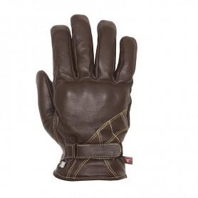Men's Gloves HELSTONS GANTS HELSTONS WAVE HIVER CUIR MARRON 20190051 M
