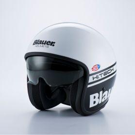 Jets Helmets BLAUER BLAUER PILOT WHITE/BLACK BRIGHT HELMET BLCJ106