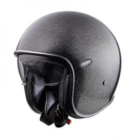 Helmets PREMIER CASQUE PREMIER VINTAGE CK BLACK VINTAGE U9 GLITTER SILVER