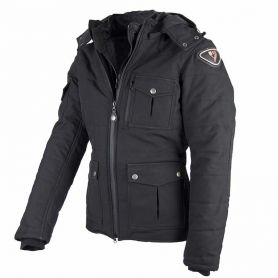 Men's Jackets By City BY CITY URBAN III BLACK FABRIC JACKET