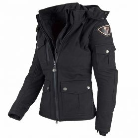 Women's Jackets By City BY CITY URBAN III LADY BLACK FABRIC JACKET