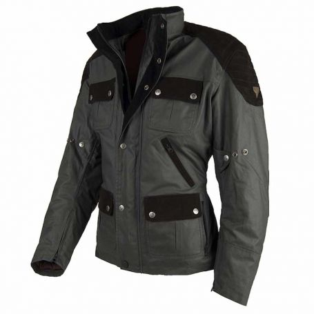 Men's Jackets By City BY CITY LONDON LIMITED GREEN FABRIC JACKET