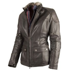 Women's Jackets By City BY CITY LEGEND II LADY BROWN LEATHER JACKET