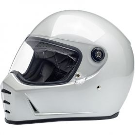 Helmets BILTWELL LANE SPLITTER FULL FACE HELMET METALLIC PEARL WHITE