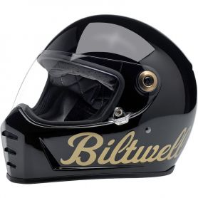 Casques BILTWELL CASQUE BILTWELL LANE SPLITTER FACTORY NOIR OR